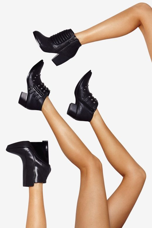 LE FASHION BLOG SHOE CULT NASTY GAL LAUNCH RIBBED TEXTURED LEATHER BOOTS ANKLE BOOTS STUDDED BLACK ANKLE BOOTS WEDGE PLATFORM ANKLE BOOT 4 photo LEFASHIONBLOGSHOECULTNASTYGAL4.jpg