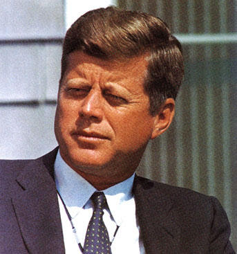 Color Photo of JFK