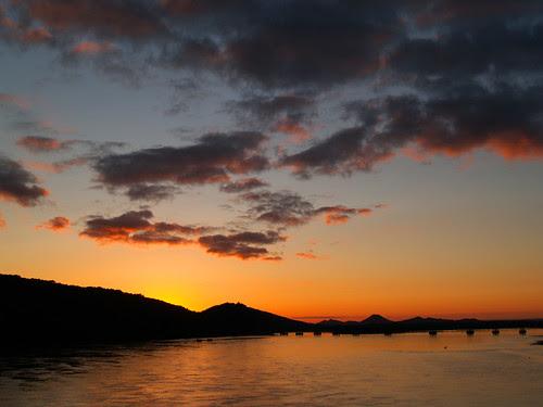 Friday night sunset...