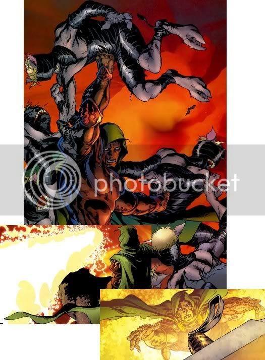 Von Doom escapa do Inferno