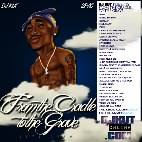 From The Cradle To The Grave Mixtape By Various Artists 2pac Tupac