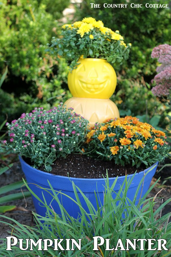 Pumpkin Planter by The Country Chic Cottage