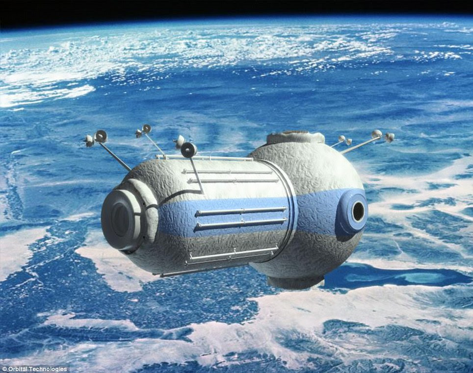 Exclusive: The hotel will be aimed at wealthy individuals and people working for private companies who want to do research in space