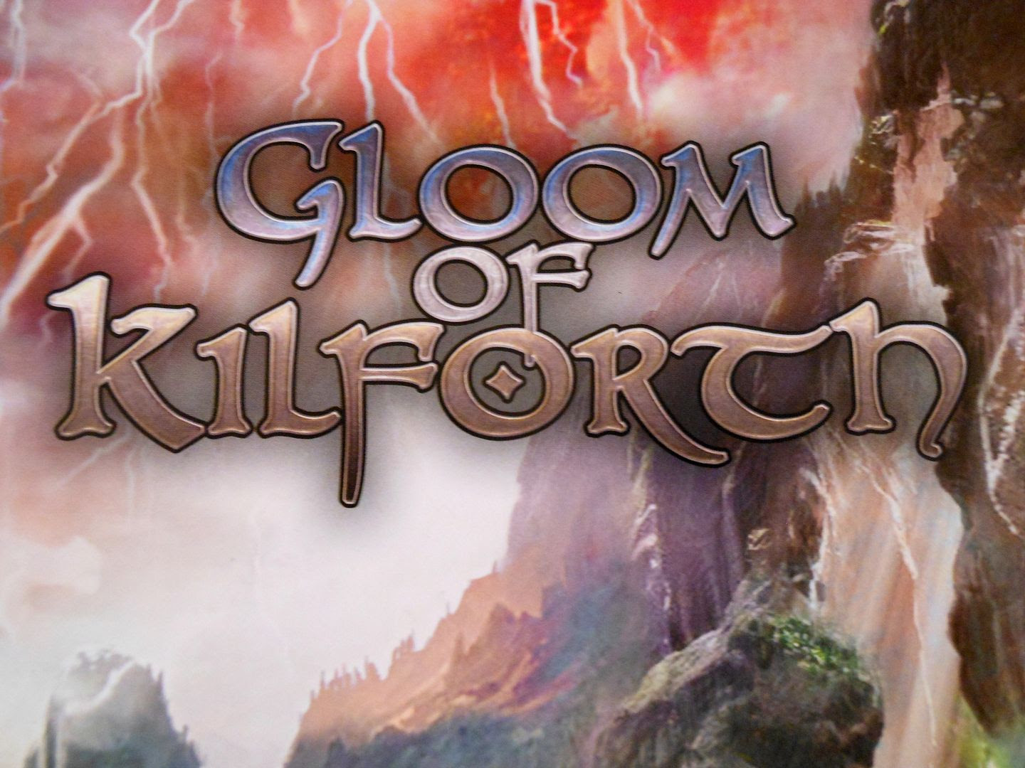 Moody title art from the cover of the Gloom of Kilforth rules book.