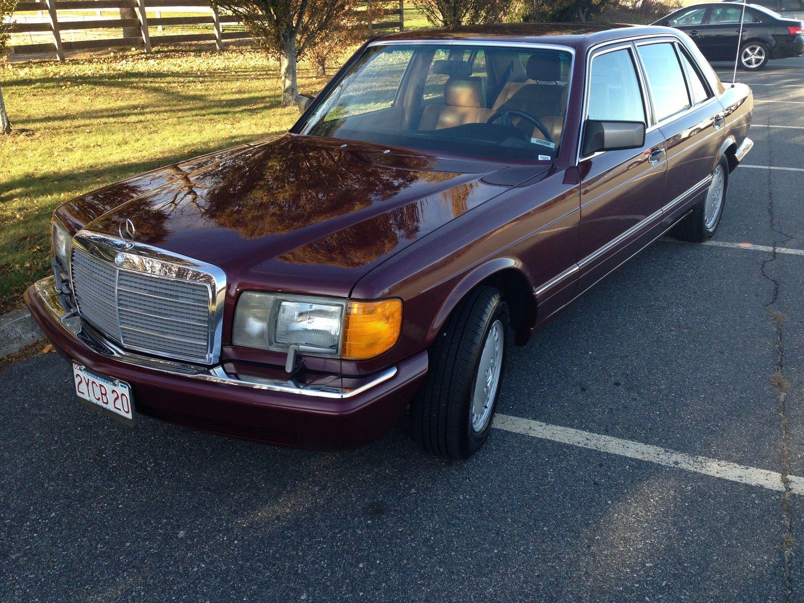 1990 Mercedes-Benz 420SEL Base Sedan 4-Door 4.2L for sale ...