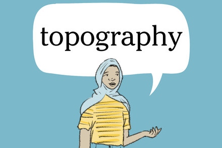 Word of the Day: topography