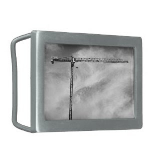 Construction Crane Belt Buckle