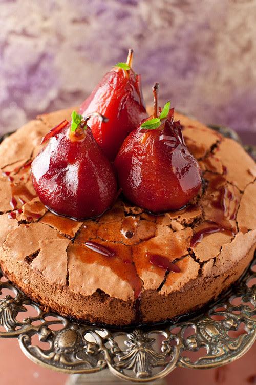 Pears Chocolate Cake 5