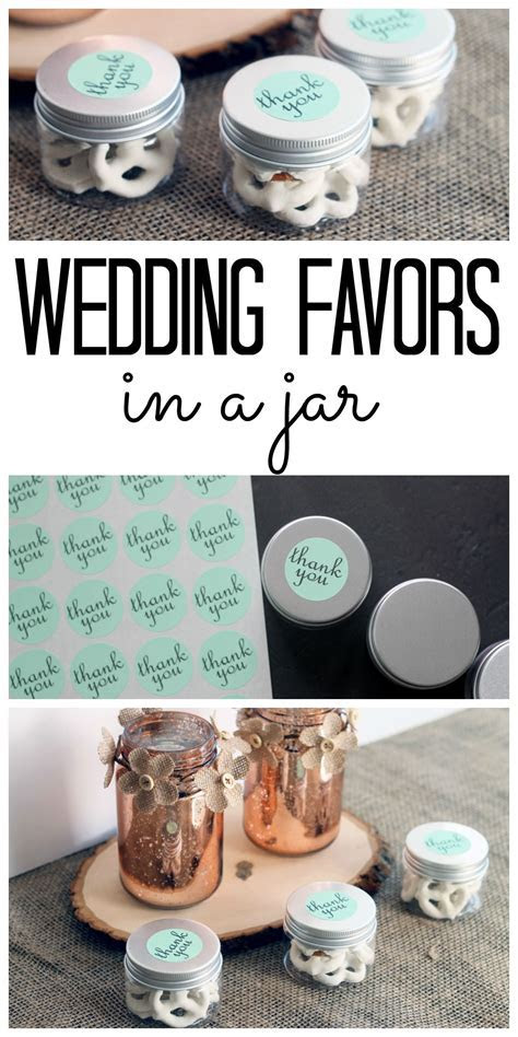 Wedding Favors in Jars   give   Wedding shower favors