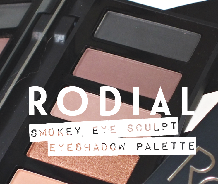 Five No Fail Palettes For: Rodial Smokey Eye Sculpt Eyeshadow Palette