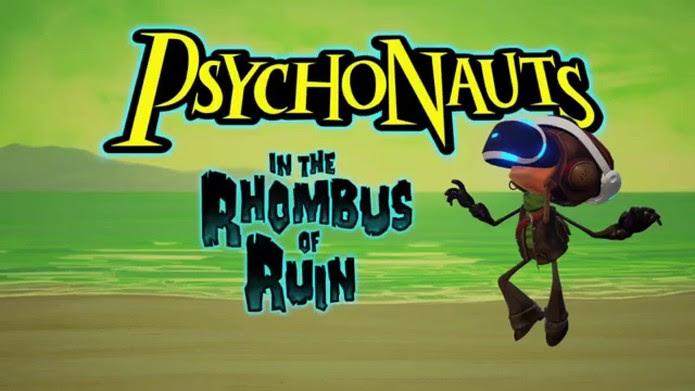 Psychonauts in the Rhombus of Ruin exclusivo do VR (Foto: Divulgação/Double Fine)