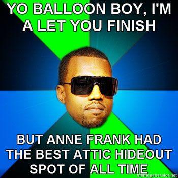 Kanye West strikes again!