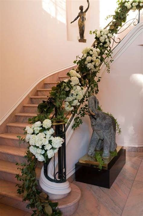 25  best ideas about Wedding staircase decoration on