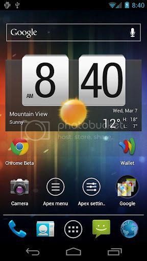 44f623af Apex Launcher Pro 1.3.0 beta 5 (Android) APK