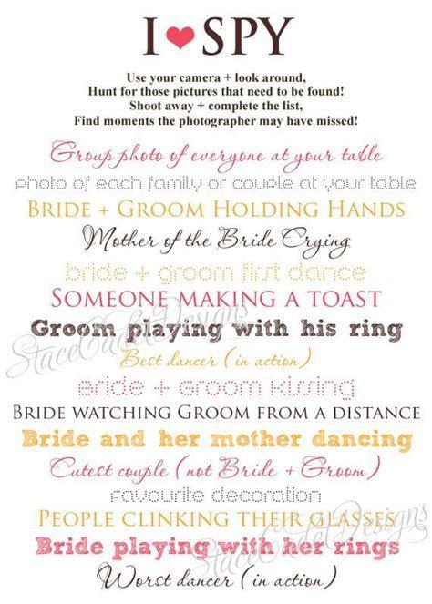 Best 25  Wedding i spy ideas on Pinterest   Instagram spy
