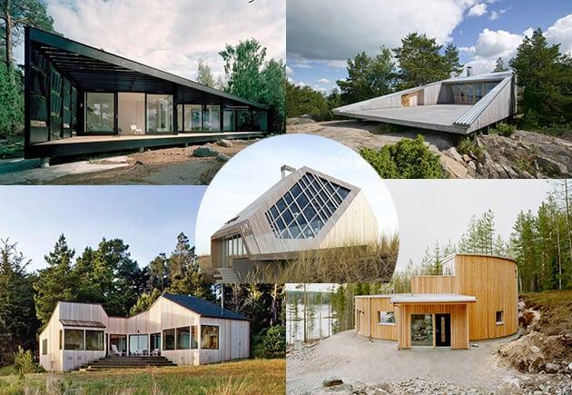 geometric house designs