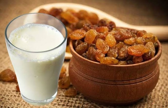 Can we eat milk and raisins together?