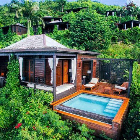 tropical architecture small house  antigua barbuda