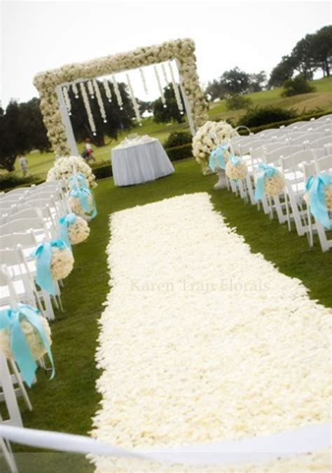 weddings aisle candle holders