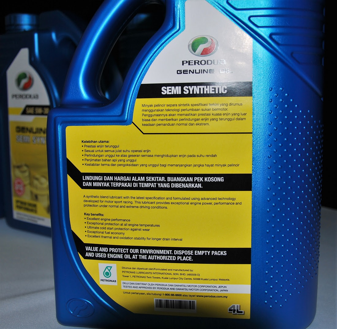 Perodua Extends Deal With Petronas Lubricants And