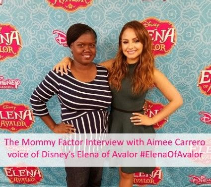 Disney's Elena of Avalor Interview with Aimee Carrero