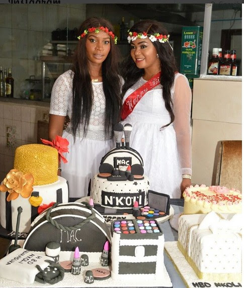 Rachael Okonkwo's All White Party In Pictures As She Celebrates Birthday