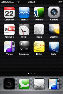 Flat iPhone Theme
