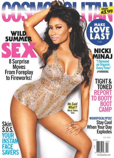 Nicki Minaj: ALL About the Orgasm! (photos) .Presented by Sexy Groove Radio