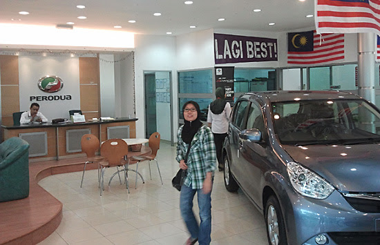 Showroom Perodua - #WordlessWednesday