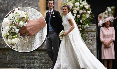 Pippa Middleton wedding ring is nearly the SAME as sister
