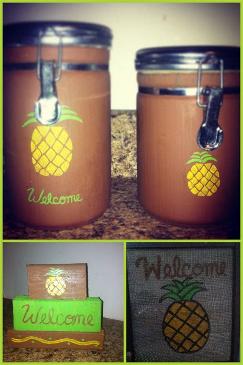 primitive pineapple kitchen theme kitchen pineapple