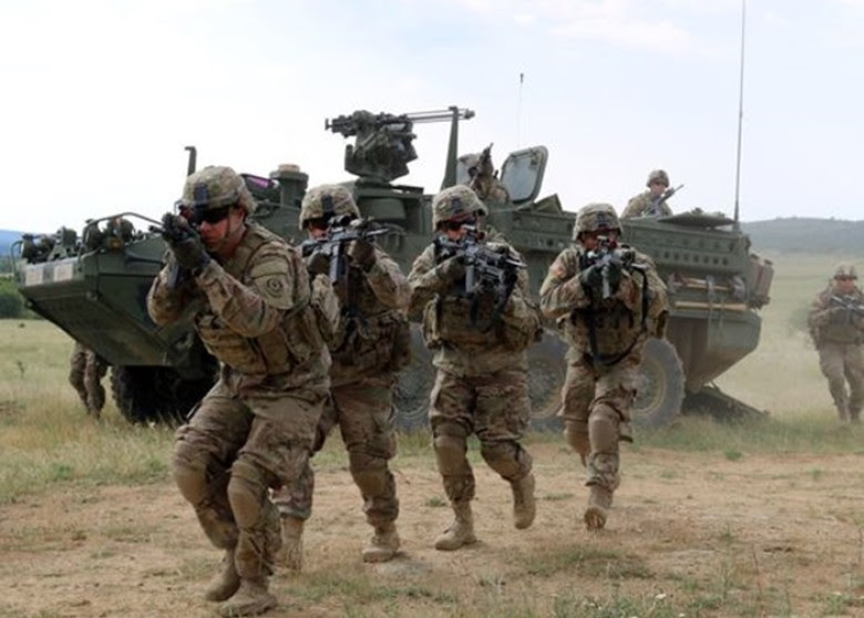 Image result for us military in eastern europe