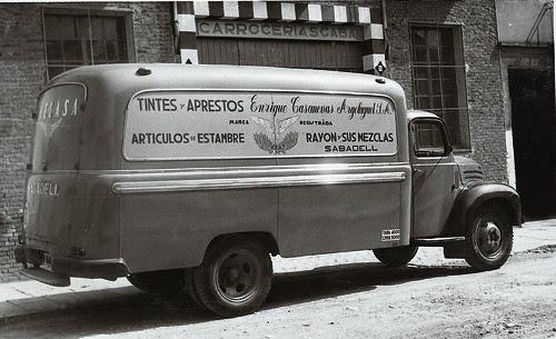 Creacio Furgó Thames 1958