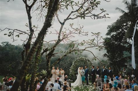 Real wedding: Erik and Ricarda's fairytale rainforest
