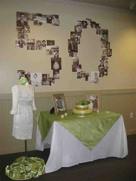 Gift Ideas For 50th Wedding Anniversary Party   Wedding