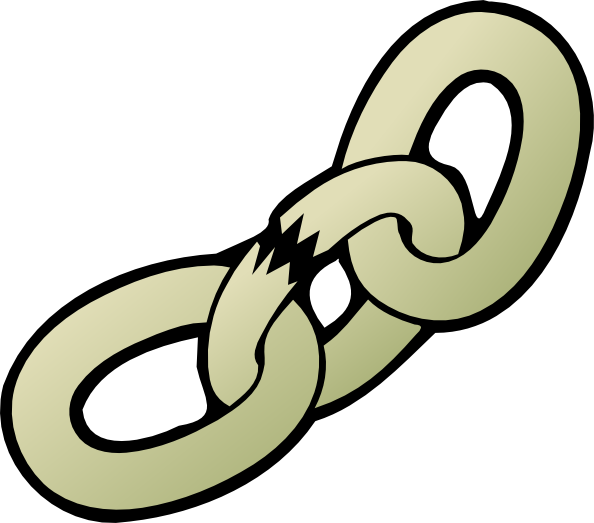 Broken Chain Clip Art. Broken Chain · By: OCAL 6.2/10 3 votes