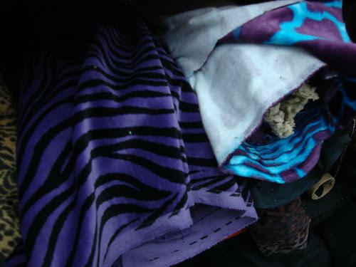 Aging rocker fabric for Mary Nanna