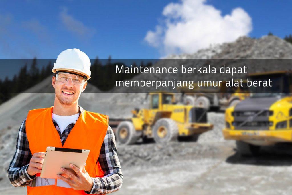 Kegiatan Maintenance Berkala Alat Berat oleh - jasavibroroller.uno