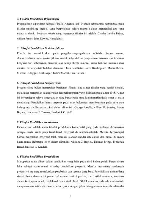 Contoh Daftar Pustaka Filsafat Pendidikan - Simak Gambar
