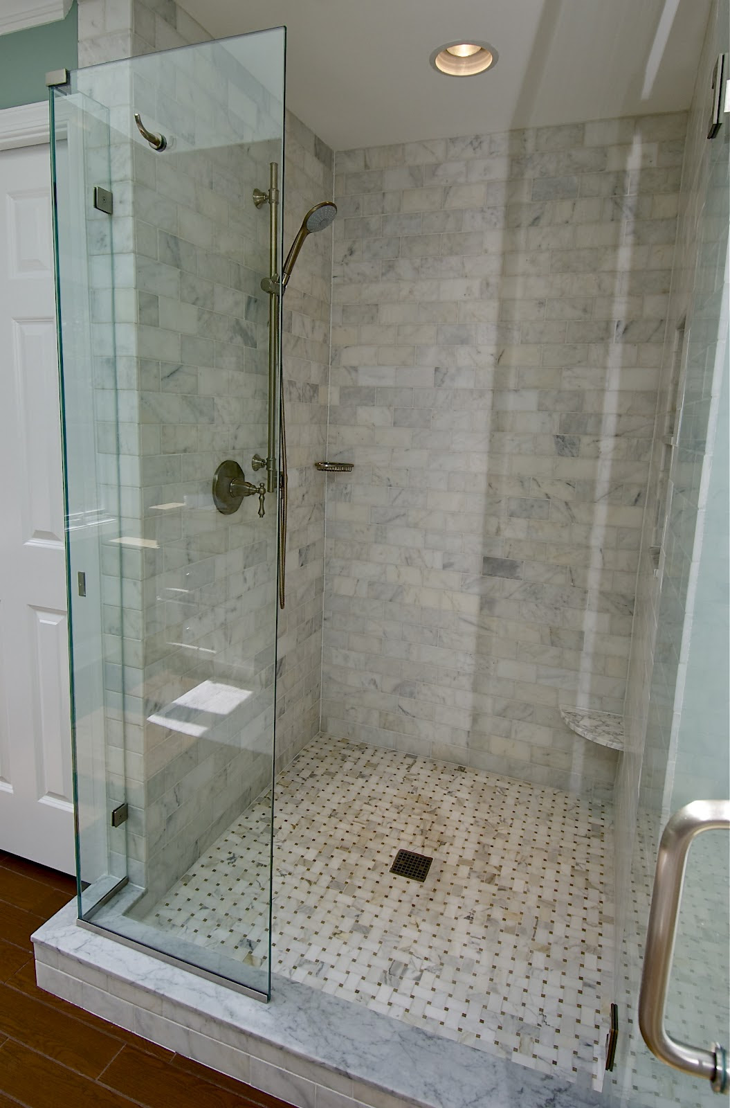 Marble Subway Tile Shower Offering the Sense of Elegance ...