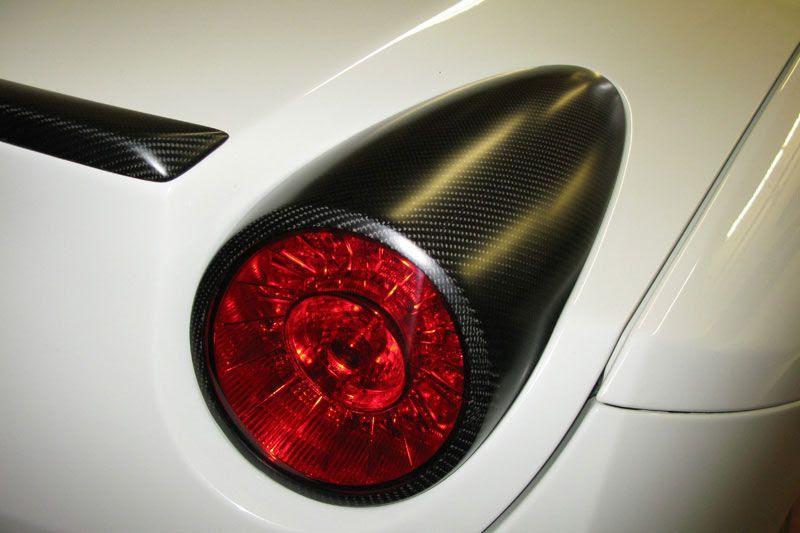 Novitec Tail Light Covers for the Ferrari California | Scuderia Car Parts