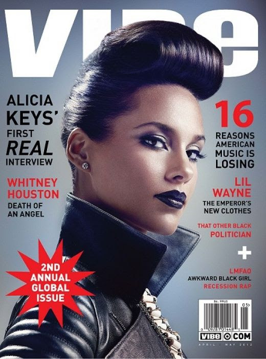 Vibe - April/May 2012, Alicia Keys