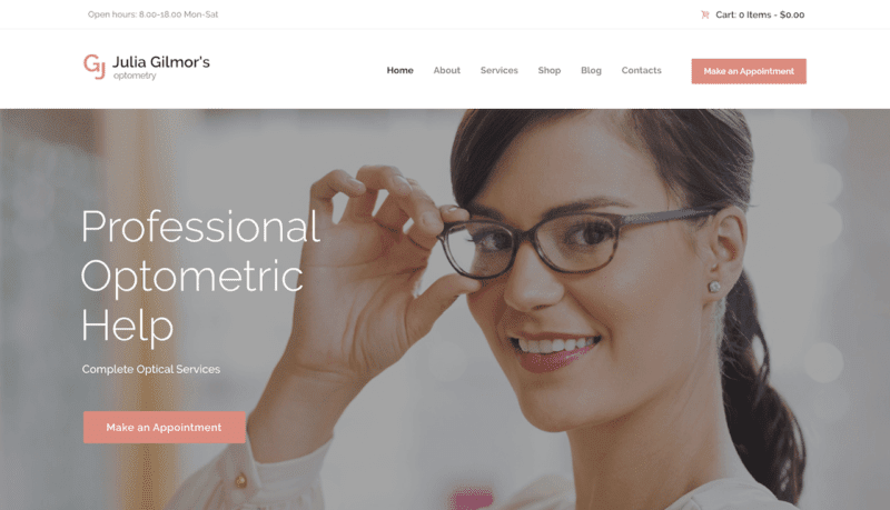 The 5 Best Optometrist WordPress Themes for 2018