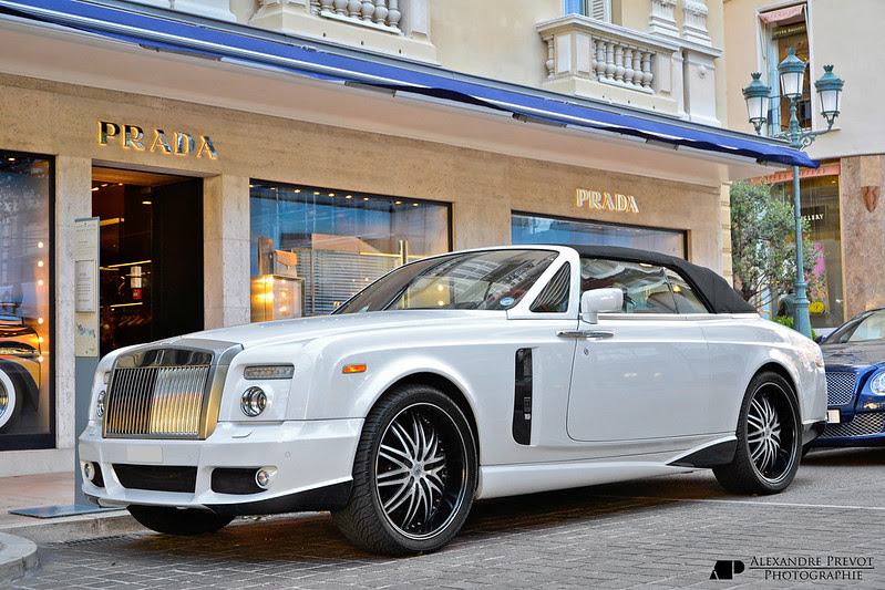 Rolls Royce Phantom Coupe Mansory Bel air