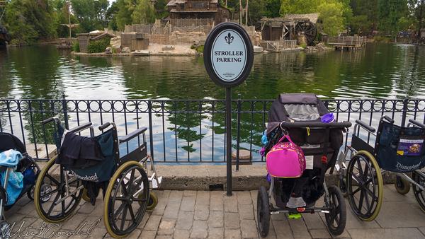 Disneyland Resort, Disneyland60, 60, Anniversary, 24, Hour, Party, Celebration, Kick, Off, Disneyland, New Orleans, Sqaure, Stroller, Parking, Sign