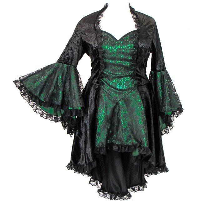 eternal love plus size emerald green gothic gwendolyn