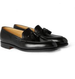 John Lobb Truro Leather Tassel Loafers