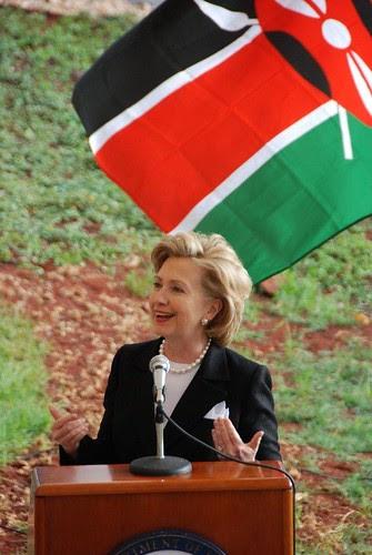 hillary in kenya