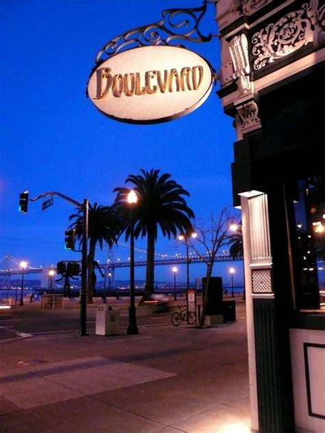 Boulevard on 1 Mission St at Steuart. A SF favorite