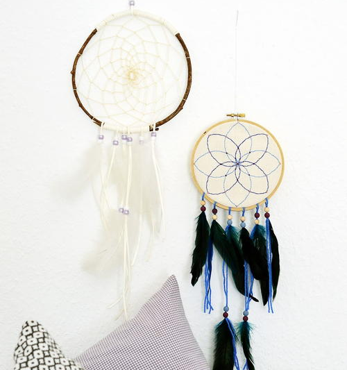 Eclectic Use for Embroidery Hoops